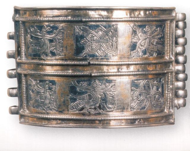 браслет-наруч. Владимирский клад. Найден в 1896 г. ХII-ХIII в.